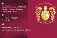 Grupo Educativo IMEI Rectoría Ecatepec