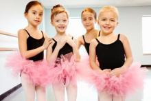 Ballet para niños en Black Swan Studio