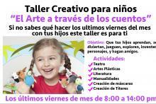 """Taller Creativo para niños """"El arte a través de los Cuentos"""""""