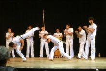 Capoeira en Black Swan Studio