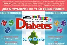 25° Curso Multidisciplinario de Diabetes de la Ciudad de México