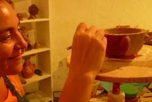 Taller de cerámica.
