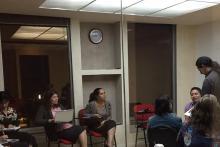 Una clase sobre entrevista clínica conductual.