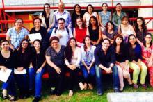 Fin del curso en Terapia Conductual Contextual para el trastorno Límite de la Personalidad impartido por los Dres. Michel Reyes y Nathalia Vargas (Guadalajara, 2014).