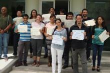 Fin del curso Terapia Conductual Contextual para Trastorno Límite de la Personalidad (en el CISAME Chimalhuacán) impartido por los Dres. Michel Reyes y Nathalia Vargas.