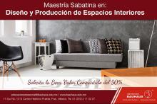 Maestría Presencial en Diseño y Producción de Espacios Interiores