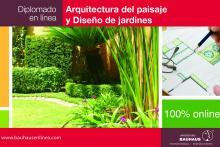Diplomado en Arquitectura del Paisaje y Diseño de Jardines en Línea