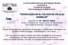 Póster Tecnología en el Cultivo de Células Animales