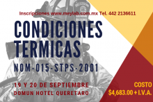 CURSO CONDICIONES TERMICAS 2019