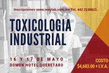 CURSO TOXICOLOGIA INDUSTRIAL 2019