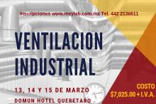 CURSO VENTILACION INDUSTRIAL 2019