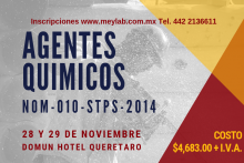 CURSO AGENTES QUIMICOS 2019