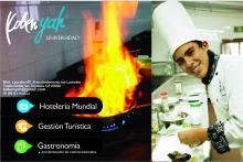 Licenciatura en Gastronomía Inscripción $1500 y Colegiatura $1925 plan cuatrimestral Universidad Koben Yah