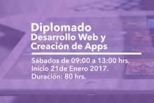 Diplomado Desarrollo Web y Creación de Apps