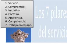 Los 7 Pilares del Servicio