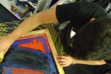 Impresión en textil