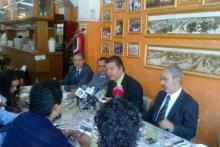 Conferencia de prensa, Aguascalientes