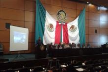 Conferencia en la Camara de Diputados