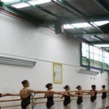 Clase de ballet en eFeL Danse