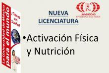 Nueva Licenciatura iniciamos en agosto 2014