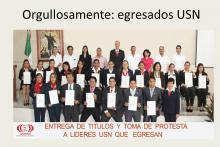 Entrega de Títulos y Cédulas Profesionales a egresados